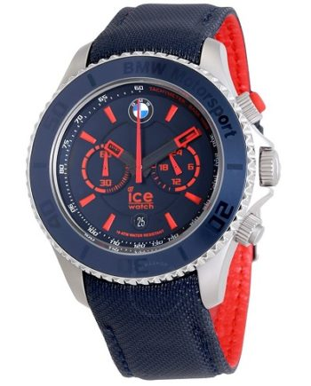 Ice-Watch BMW Motorsport Chronograph 48 mm Blue Dial Men's Watch
