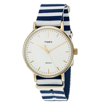 Timex Women's Fairfield Watch Weekender 37mm Slip-Thru Strap
