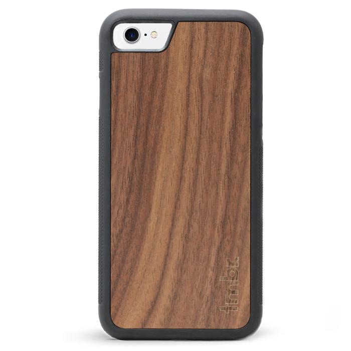 more photos 43e02 abb88 iPhone 7 / 8 Wood Case - Walnut