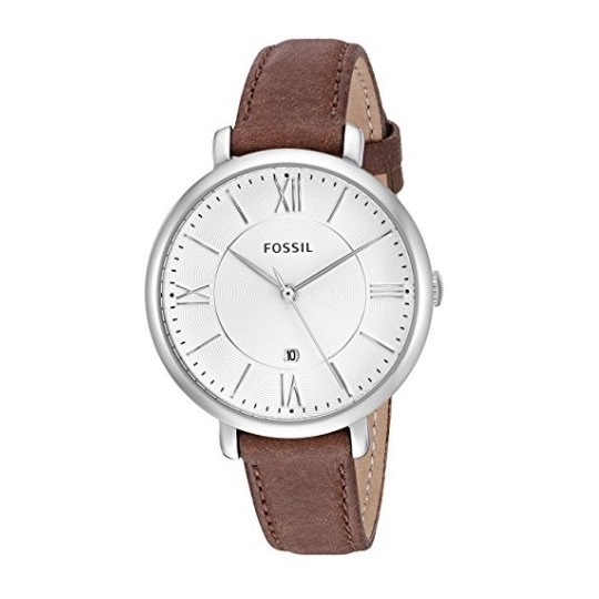 Fossil Jacqueline Three Hand Leather Watch ES3708
