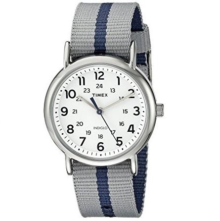 Timex Unisex Weekender Watch Slip Thru Strap