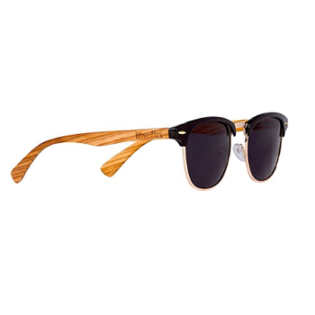 Polarized Wooden Clubmaster Sunglasses By Woodies