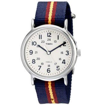 Timex Unisex Weekender Watch Nylon Band T2P2349J