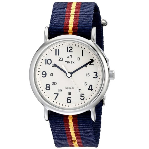 Timex Unisex Weekender Watch Nylon Band T2P2349J