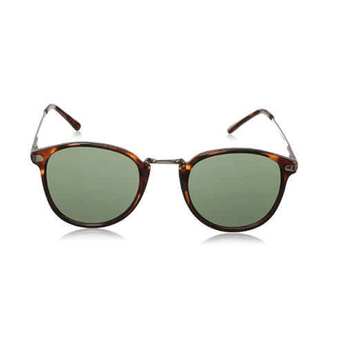 Tortoise Round Sunglasses By A.J. Morgan Castro