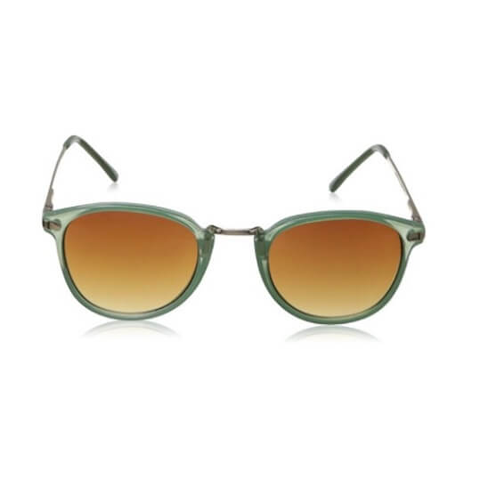 Mint Round Sunglasses By A.J. Morgan Castro
