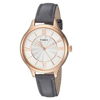 Timex Women's Watch Peyton Leather Strap TW2R27900