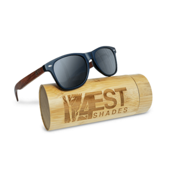 Polarized Rose Wood Sunglasses 50 50 Collection By 4EST