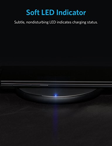 Anker Wireless Charger, Qi-Certified Ultra-Slim 2