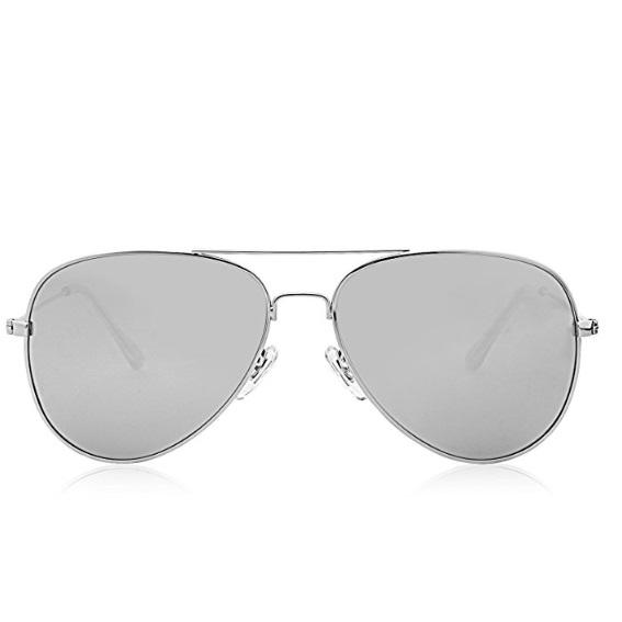79c162e5ad9 Home   Women   Sunglasses   SojoS Classic Aviator Polarized Sunglasses  Mirrored UV400 Lens SJ1054