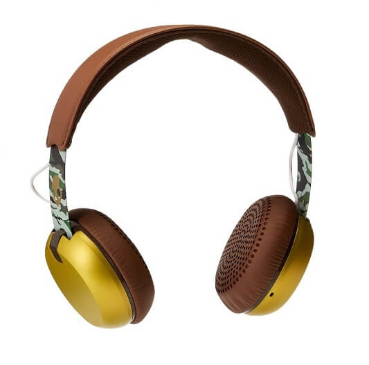 Skullcandy Grind Headphones Scout Brown and Gold