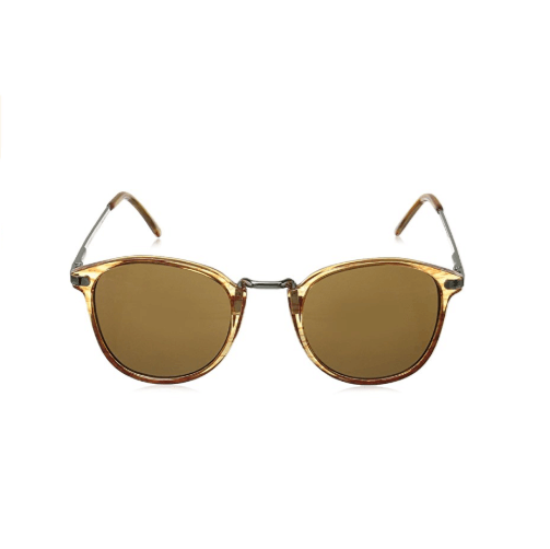 Amber Round Sunglasses By A.J. Morgan Castro