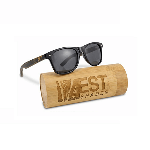 Polarized Bamboo Sunglasses 50 50 Collection By 4EST