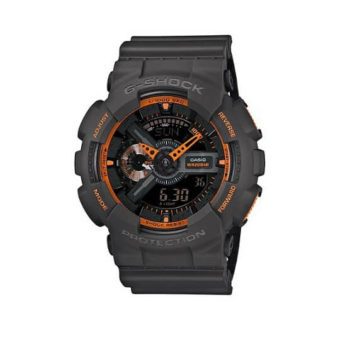 Casio Men's G-Shock GA-110TS-1A4 Analog-Digital Watch With Grey
