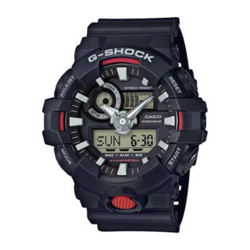 Casio Men's G Shock Watch Quartz Resin Casual (Model: GA-700-1ACR