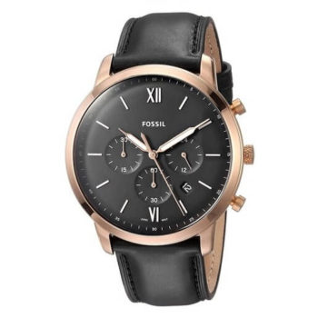 Fossil Neutra Chronograph Black Dial Men's Watch FS5381