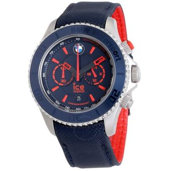Ice-Watch BMW Motorsport Chronograph 48 mm Blue Dial Men's Watch