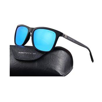 MERRY'S Blue Polarized Sunglasses