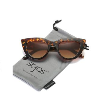 SOJOS Cateye Vintage Women Sunglasses SJ2939 Multicoloured