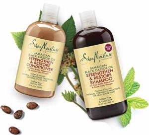 Shea Moisture shampoo and conditioner 4