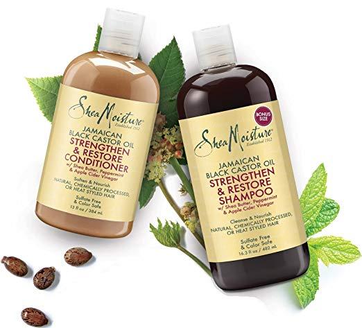 Shea Moisture shampoo and conditioner 4