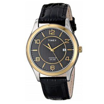 Timex Men's Watch Grand Street Black Dial T2P450