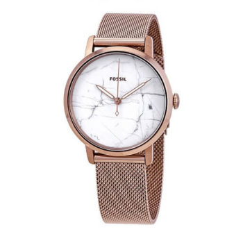 Fossil Neely Ladies Watch White Marble Dial ES4404