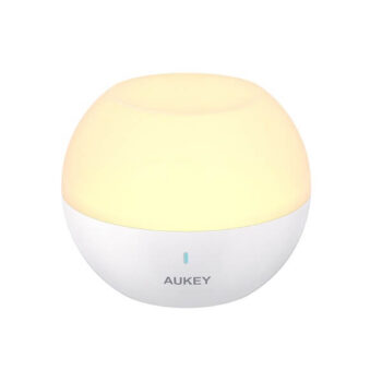 AUKEY Night Light Bedside Lamp with RGB Color-Changing & Dimmable Light 22 (1)