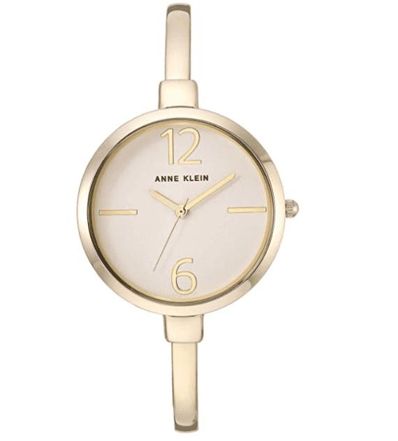 Anne Klein Women's Bangle Watch and Swarovski Crystal Accented Bracelet Set 3