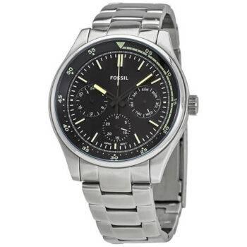Fossil Belmar Quartz Black Men's Watch FS5575