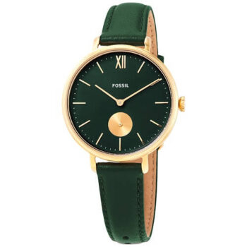 Fossil Kayla Quartz Green