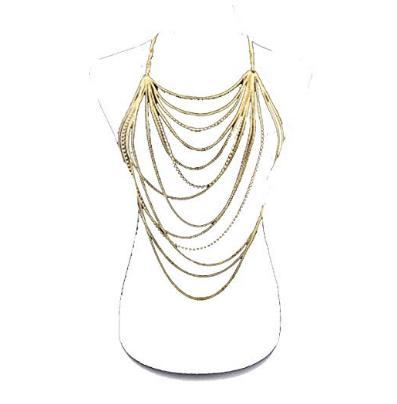 Bikini Crossover Necklace Jewelry for Women (1)