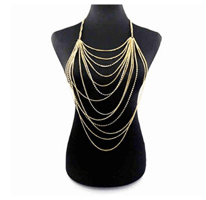 Bikini Crossover Necklace Jewelry for Women 2 (1)