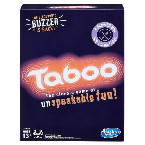 Taboo Party Board Game With Buzzer