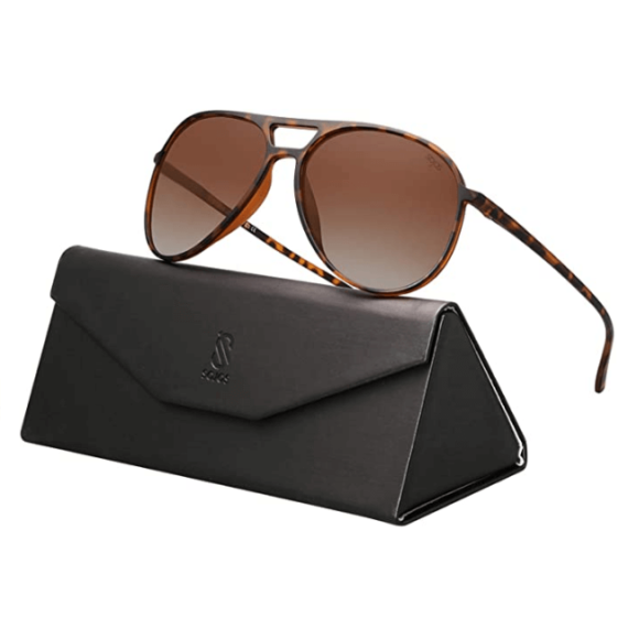 Classic Polarized Aviator Sunglasses Ultra Lightweight By SOJOS 1