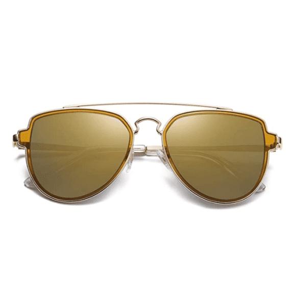 Polarized Aviator Sunglasses Unisex Mirrored Lens By SOJOS 1