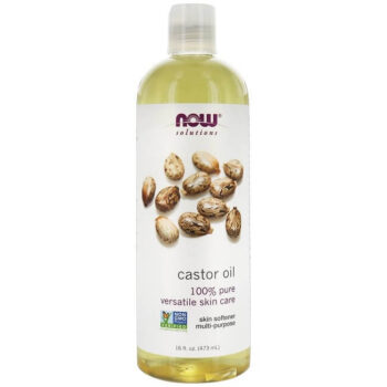 NOW Solutions Castor Oil 16-Ounce