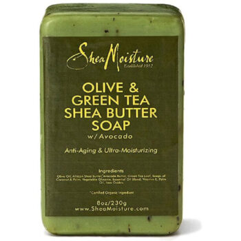 SheaMoisture Olive & Green Tea soap 8 oz for Dry& Aging Skin