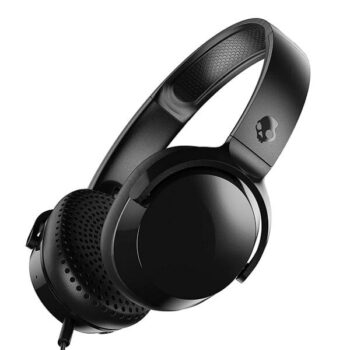 Skullcandy Riff On-Ear Headphones, Black (S5PXY-L003) 1