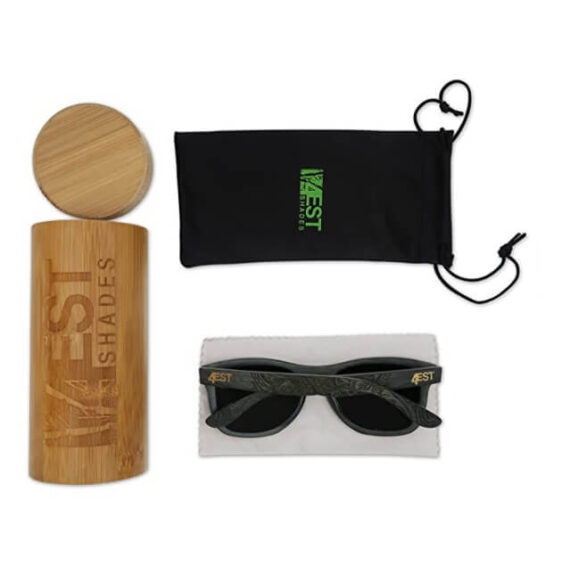 Bamboo Wood Sunglasses By 4EST