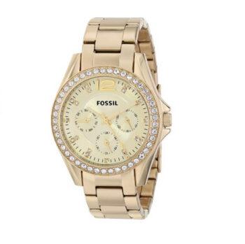 Fossil Women's Riley Chronograph Glitz Watch ES3203 2
