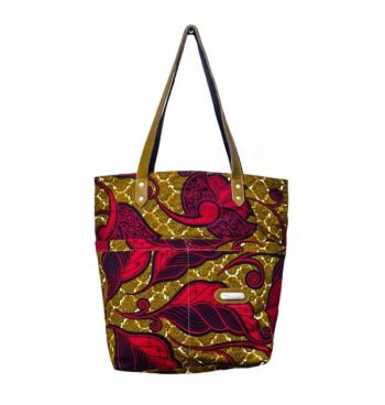 Large Size Print Tote By Suave