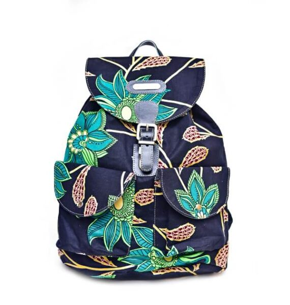 Classic Print Backpack by Suave