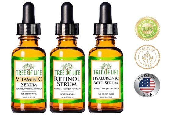 Anti Aging Serum 3-Pack for Face 4