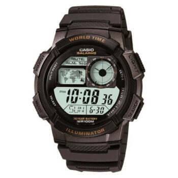 Casio Men's AE-1000W-1AVCF Resin Sport Watch with Black Band 2