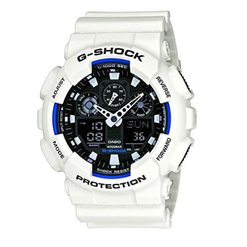 Casio Men's GA-100 XL Series G-Shock Quartz 200M WR Shock Resistant Watch