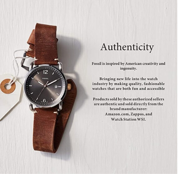 Fossil Women's Modern Courier Stainless Steel Chronograph Dress Quartz Watch - BQ3377