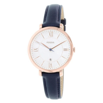 Fossil Women's Jacqueline Quartz Leather Three-Hand Watch - ES3843