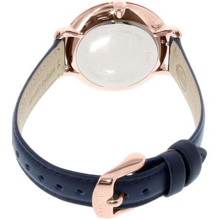 Fossil Women's Jacqueline Quartz Leather Three-Hand Watch - ES3843