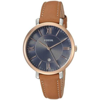 Fossil Women's Jacqueline Quartz Leather Three-Hand Watch - ES4274 4